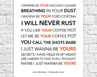 I wanna be your vacuum cleaner poem