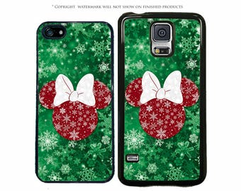 disney minnie mouse christmas phone case for apple iphone 7 7 plus iphone 8 galaxy s8 s8 plus s7 s7 edge lg pixel xl note 8