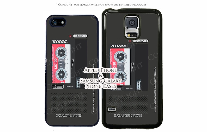 Dale Cooper Voice Recorder Diane Phone Case For Apple iPhone 7, iPhone 7  Plus, iPhone 6, iPhone 6s, 6 Plus, iPhone 5, iPod Touch