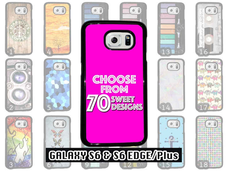 Great Samsung Galaxy S6 & Samsung Galaxy S6 Edge Phone Case Choose from 70  Designs Makeup / Anchor / Patterns / Stained Glass /