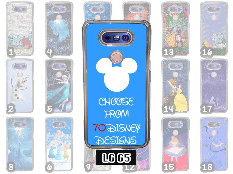 low cost b05bb 2bb05 Disney LG G7 Black Rubber Phone Case Choose from 70 Designs Beauty and the  Beast Little Mermaid Peter Pan Minimalist Ohana Wonderland Alice