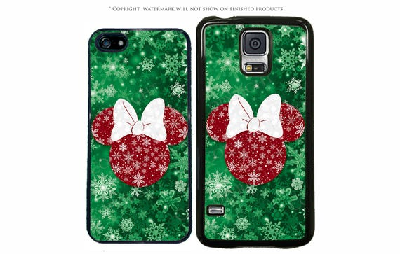Christmas Phone Case Iphone 7.Disney Minnie Mouse Christmas Phone Case For Apple Iphone 7 7 Plus Iphone 8 Galaxy S8 S8 Plus S7 S7 Edge Lg Pixel Xl Note 8