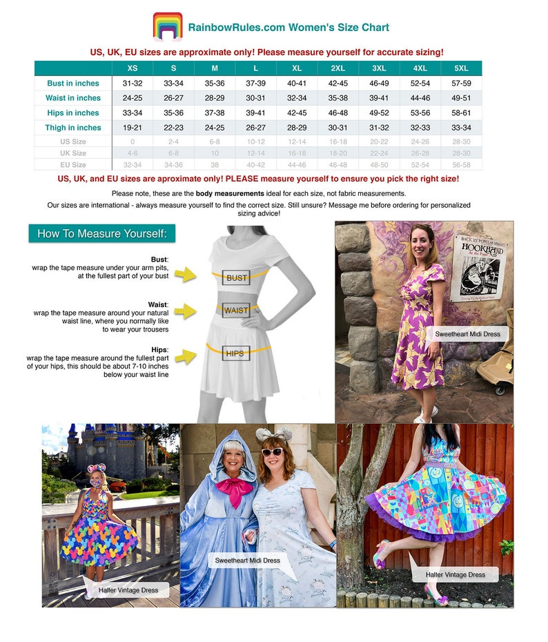 Disney Parks Inspired Midi Dress in XS 5XL Haunted Mansion Wallpaper Vintage Retro Inspired