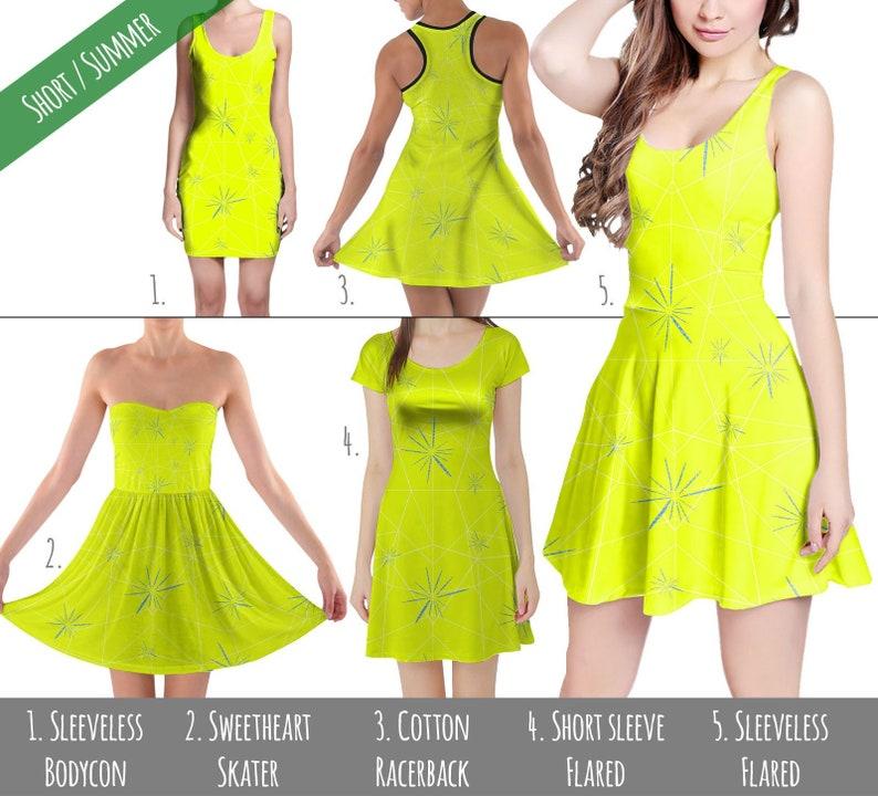 d2c700f372 Joy Inside Out Disney Inspired Dress in XS 5XL Short