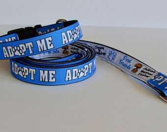 Donate a Leash to a Shelter Dog - Share the Love ADOPT ME Leash