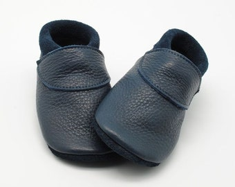 detailed look 4a59e f3797 Baby booties made from vegetable tanned leather by Safinio ...
