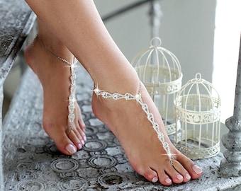 58349bdb1c010 Beach wedding barefoot sandals