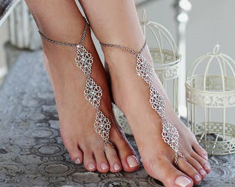 bb2df079757f4 Beach wedding barefoot sandals
