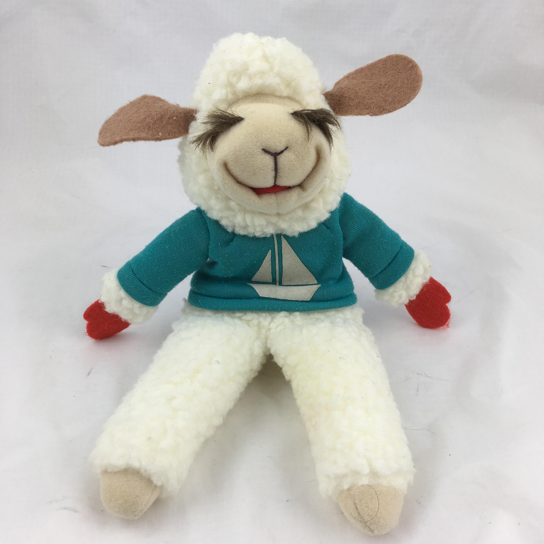 Lamb Chop Puppet Vtg 1993 Plush Toy Shari Lewis 11 Tall Etsy