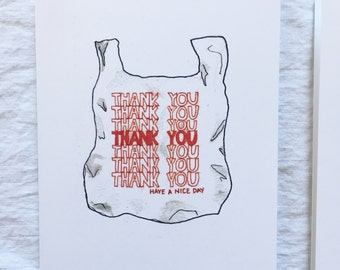 Have A Nice Day Thank You Card