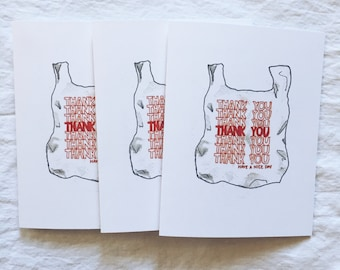 Have A Nice Day Thank You Card - Set of 3