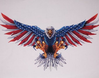 Eagle Window Decal Etsy