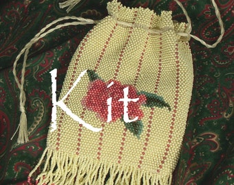 Rosemont Kit, a Bead Knitting Kit in the Victorian tradition
