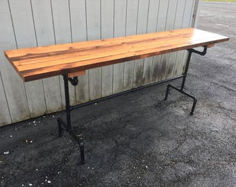 Exceptionnel Raise The Bar Table Reclaimed Wood Bar Table Farmhouse Table Pub Table  Restaurant Table Rustic Farm Table