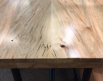 Butcher Block Etsy - Oak butcher block table top