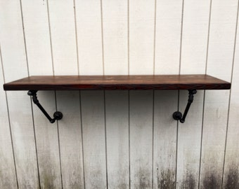 Charmant The Lodge Mantel Wall Mounted Bar Table Shelf Reclaimed Wood Bookshelf  Floating Shelf Bar Pub Table