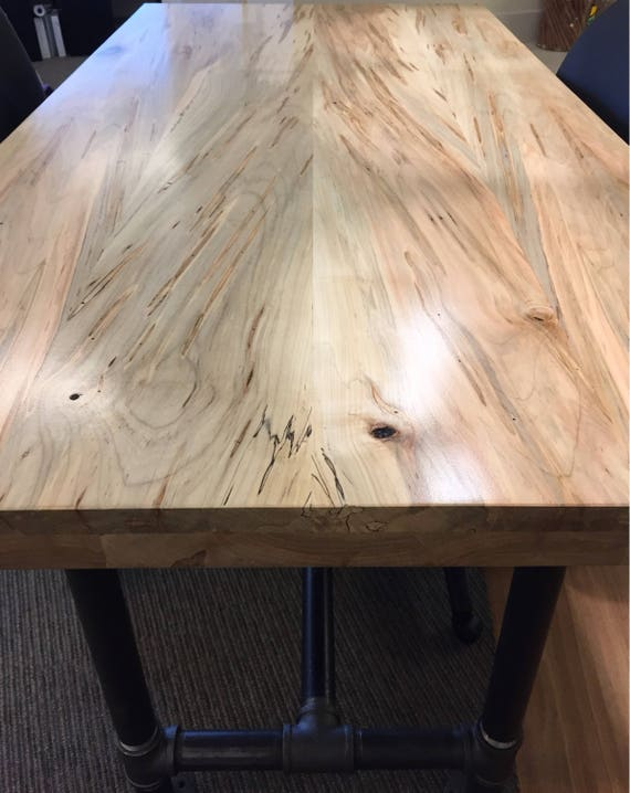 Ambrosia Maple Slab Countertop Tabletop Reclaimed Salvaged