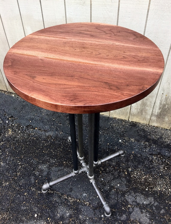 Prime Round Table Reclaimed Wood Black Walnut Dining Table Bar Reclaimed Wood Round Table Cafe Table Black Walnut Pub Table Restaurant Tabletop Alphanode Cool Chair Designs And Ideas Alphanodeonline