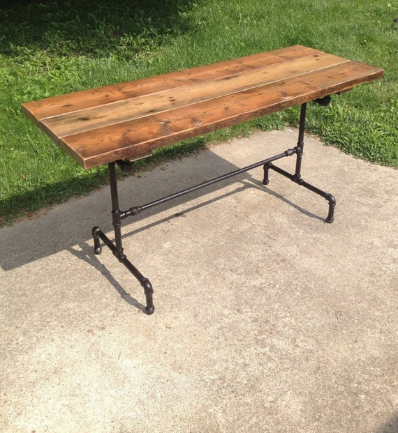 Astonishing Orchard Farmhouse Table Reclaimed Wood Dining Table With Black Steel Iron Base Theyellowbook Wood Chair Design Ideas Theyellowbookinfo