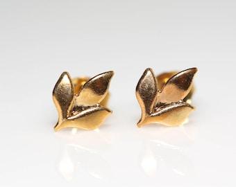 Leaf Trio Earrings