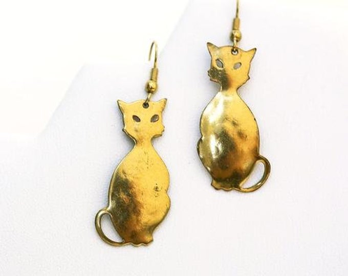 Featured listing image: Slender Cat Earrings