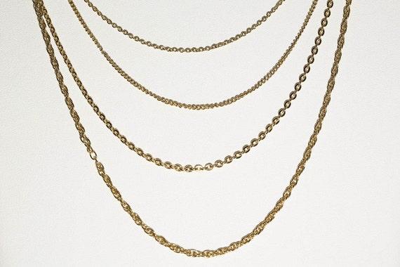 Small Multi-chain Necklace - image 1