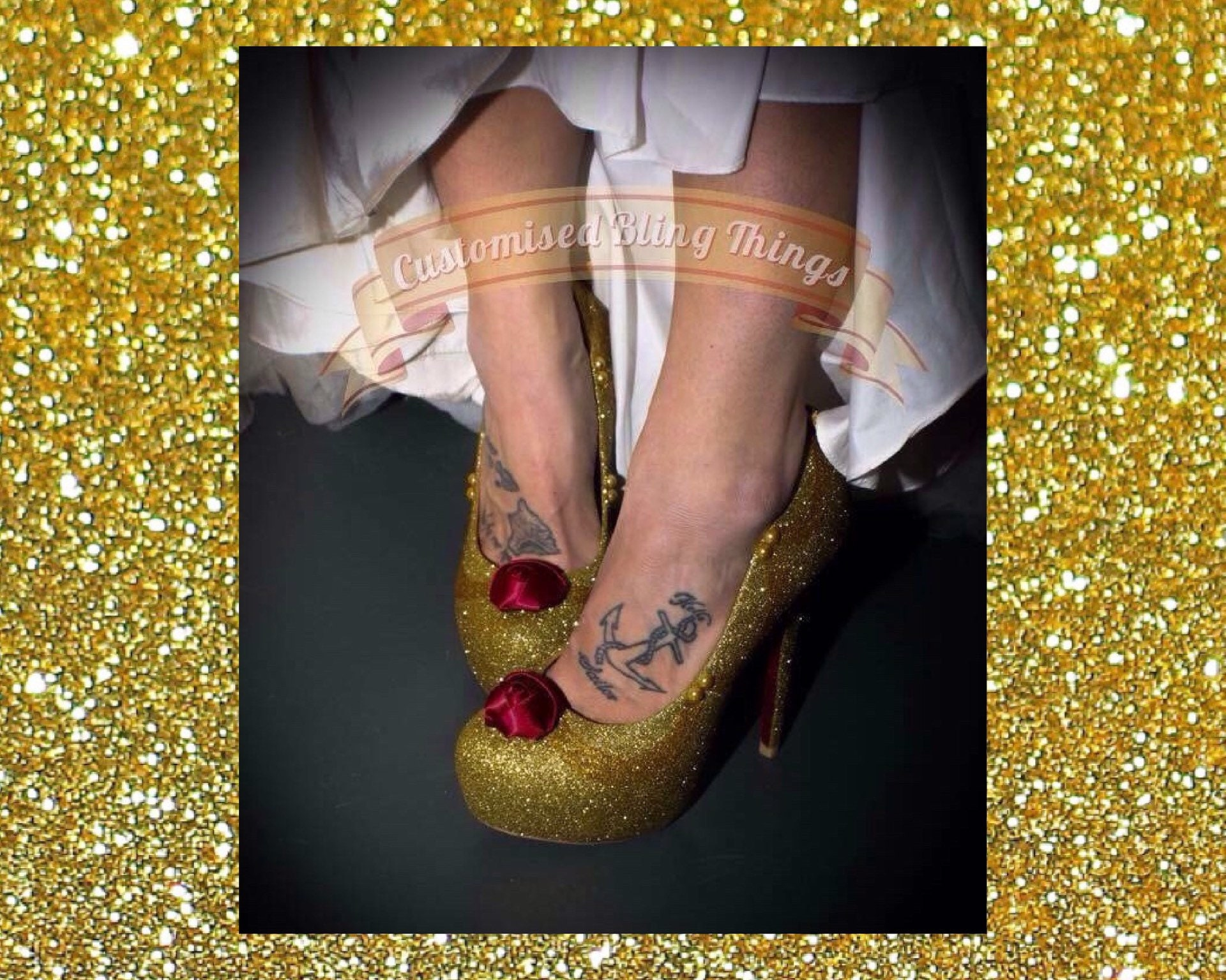 Beauty And The Beast Wedding Shoes Fairytale Wedding Shoes Etsy