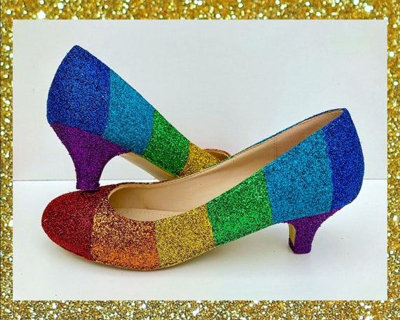 sparkly small heels