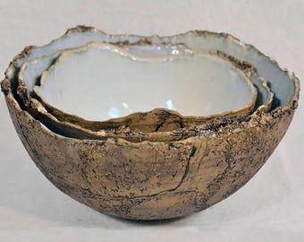 Oyster Round Nesting Bowl Set