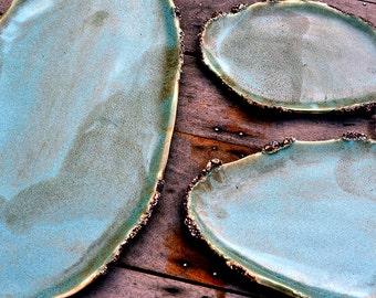 Oyster Nesting Flat Trays (set of 3)