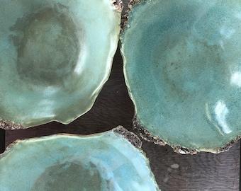 Oyster Entree Server - irregular shape