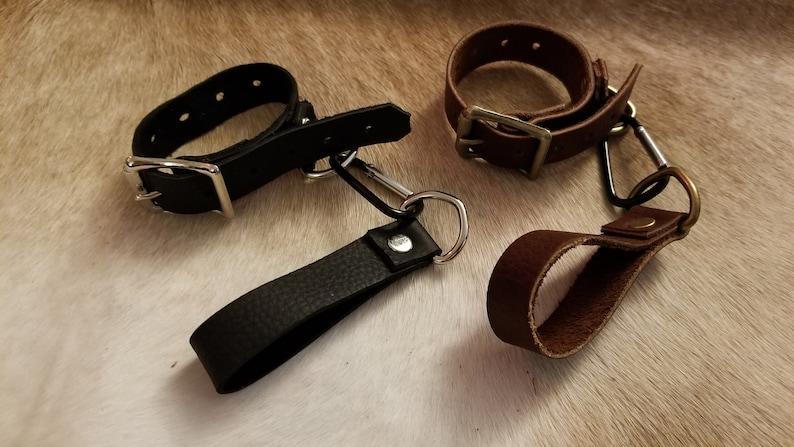 Adjustable Leather Light Energy Saber Sword Sheath