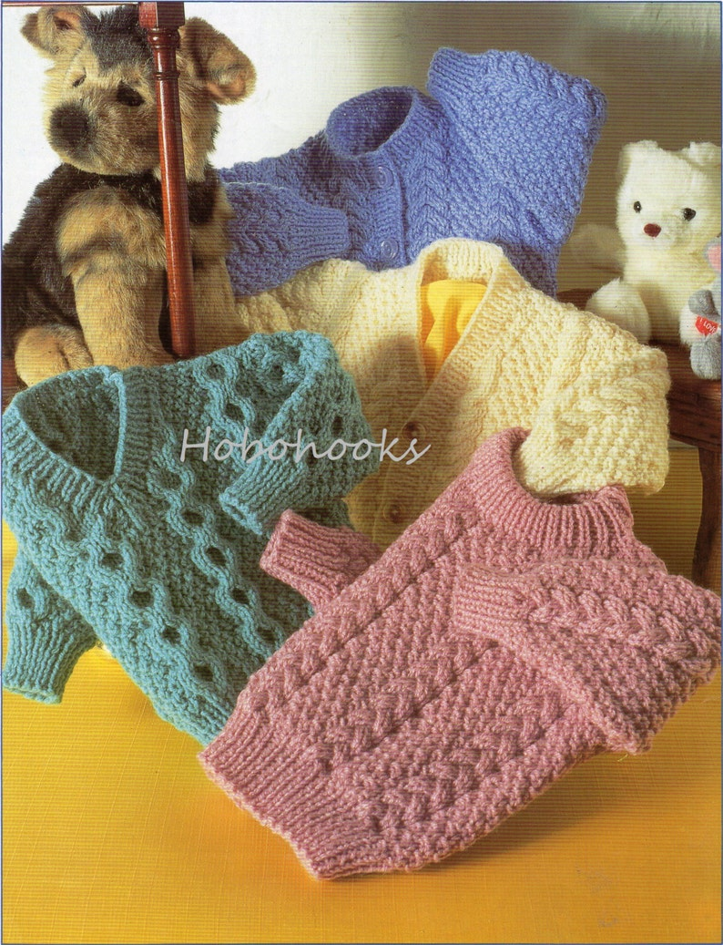 209dce56c Baby   toddler   childrens aran cable cardigans and sweaters