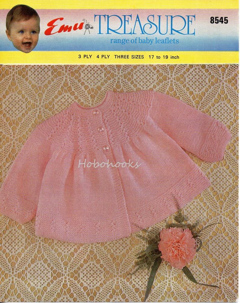 25f2295bb Baby Knitting Patterns Baby Matinee Coat Baby Matinee Jacket