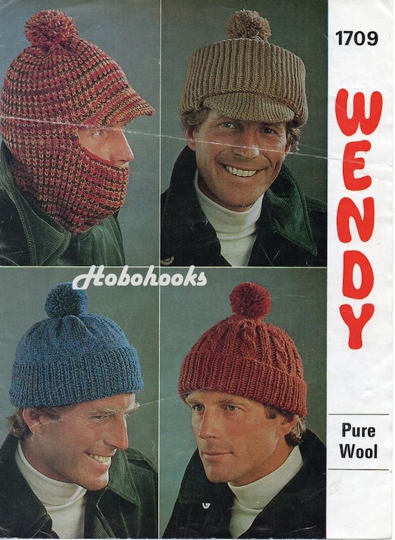 069a294b68c mens hat knitting pattern pd mens cap balaclava bobble hat
