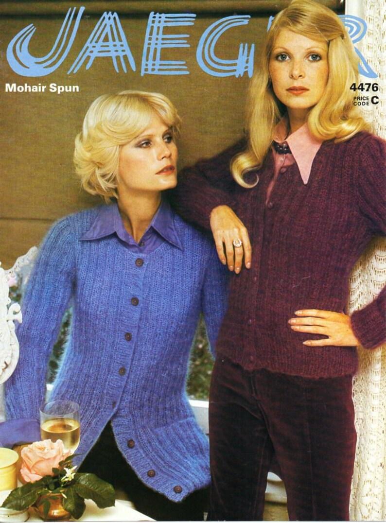 d9efdce6e Womens mohair cardigan knitting Pattern Pdf Download womens