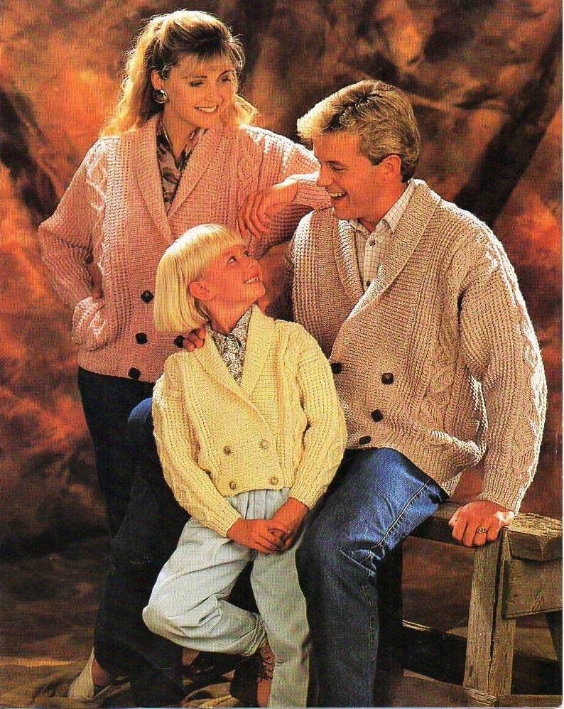 57514d587 Aran shawl collar jacket knitting pattern pdf womens mens