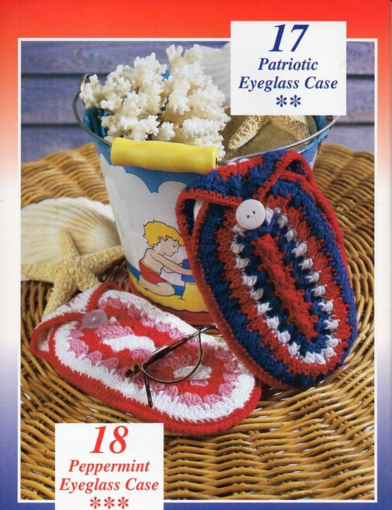 Crochet Glasses Case Crochet Pattern Pdf Crochet Eyeglass Case Etsy