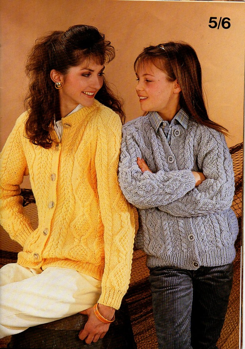 fd0676767 Mens womens childrens aran cardigans knitting pattern pdf