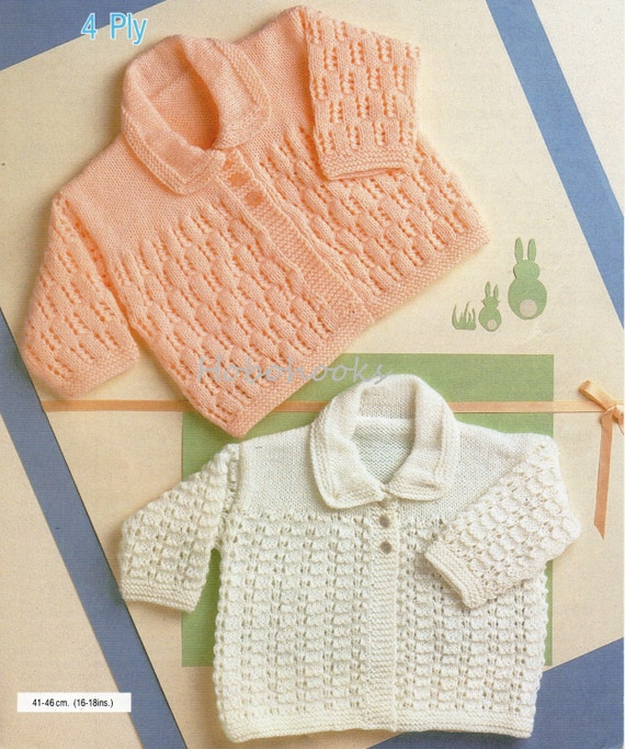 f7d89e4bf baby cardigan with collar knitting pattern pdf matinee coat