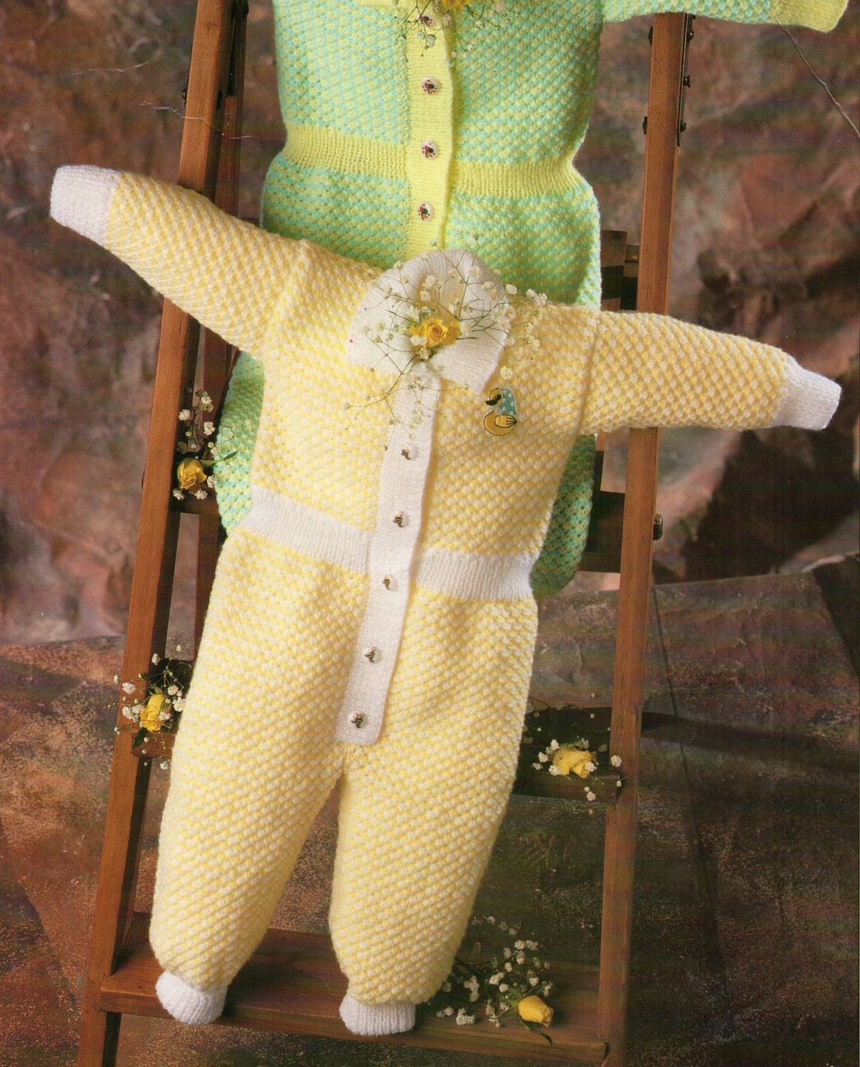61e37ade0 baby all in one knitting pattern pdf baby rompers romper suit 16-22 inch  4ply babies knitting pattern for babies pdf digital download