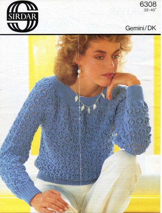 109e0e4ae71dbc womens lacy sweater knitting pattern pdf download ladies lace