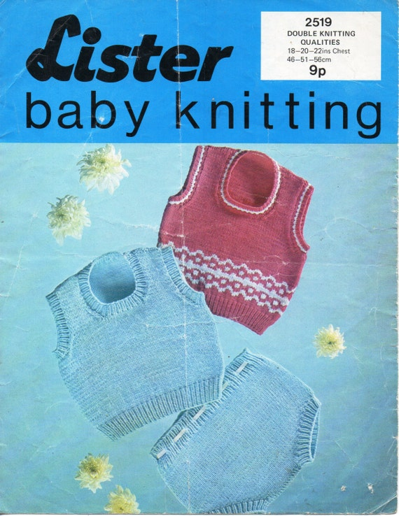 371b1970d baby knitting pattern pdf baby tank top   pants baby slipover