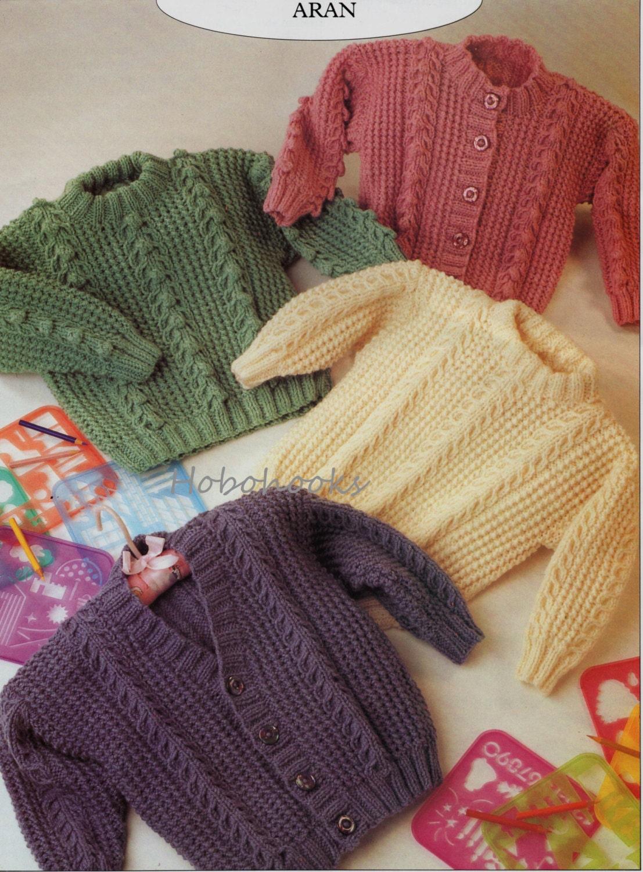 9a5713c6b Baby Knitting Pattern Childs Knitting Pattern aran jumper aran