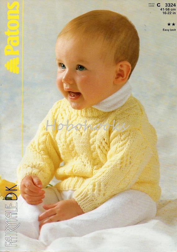 b0493f71bb36 Baby Knitting Pattern baby jumper pattern baby sweater