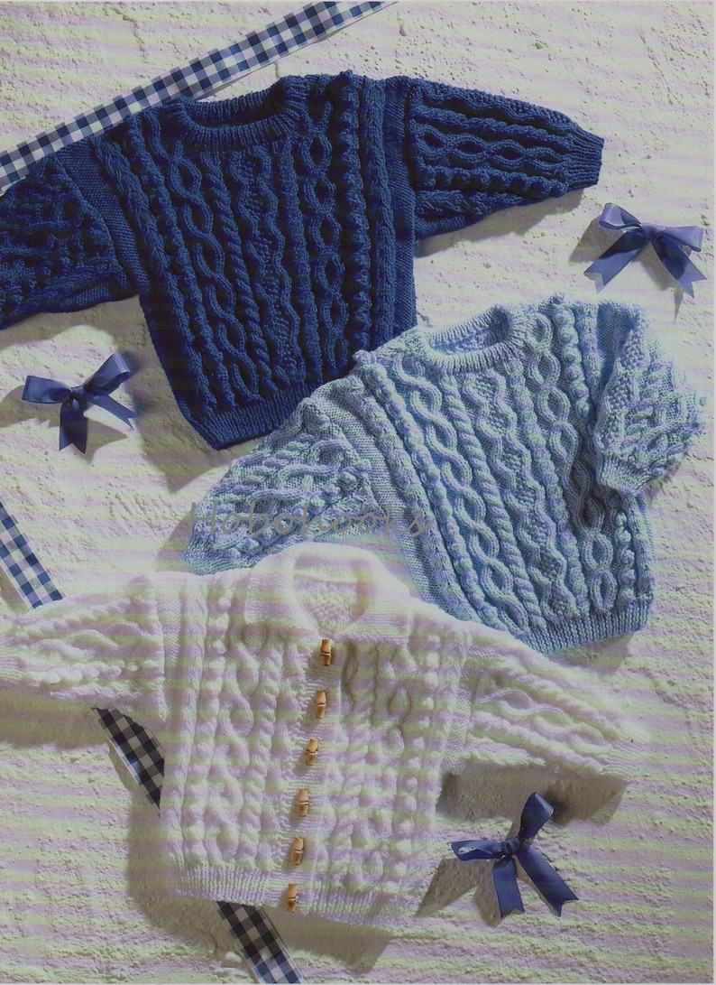 8ac9f3e0ce0a Baby   childs   childrens cable jumper   sweater   cardigan