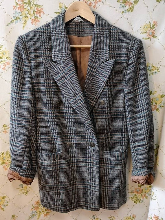 Vintage wool blazer - Smart Set