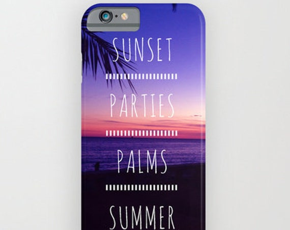 SUNSET  PHONE CASE • iPhone 6 case, iPhone 6 phone case, iPhone 6S case, iPhone 6S phone case, funda iPhone 6, coque iPhone 6, carcasa I6
