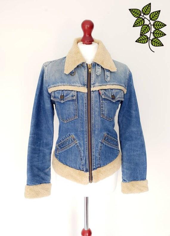 LEVIS  Strauss Original Denim Vintage Jacket,  She