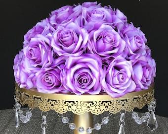Purple wedding centerpieces | Etsy